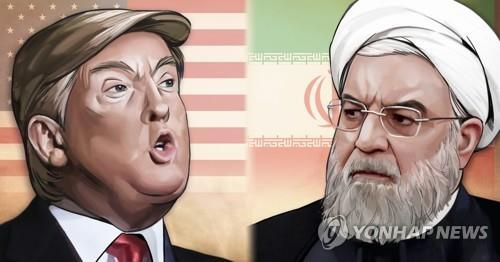 미국-이란 긴장 고조[정연주 제작] 일러스트