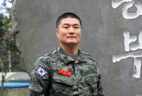 해병대 9여단 김기용 상사