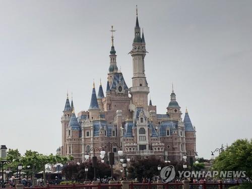중국 상하이 디즈니랜드 성