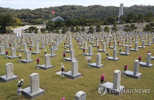 서울현충원, 코로나19 확산에 입장제한…현충일은 개별참배 가능 | 연합뉴스
