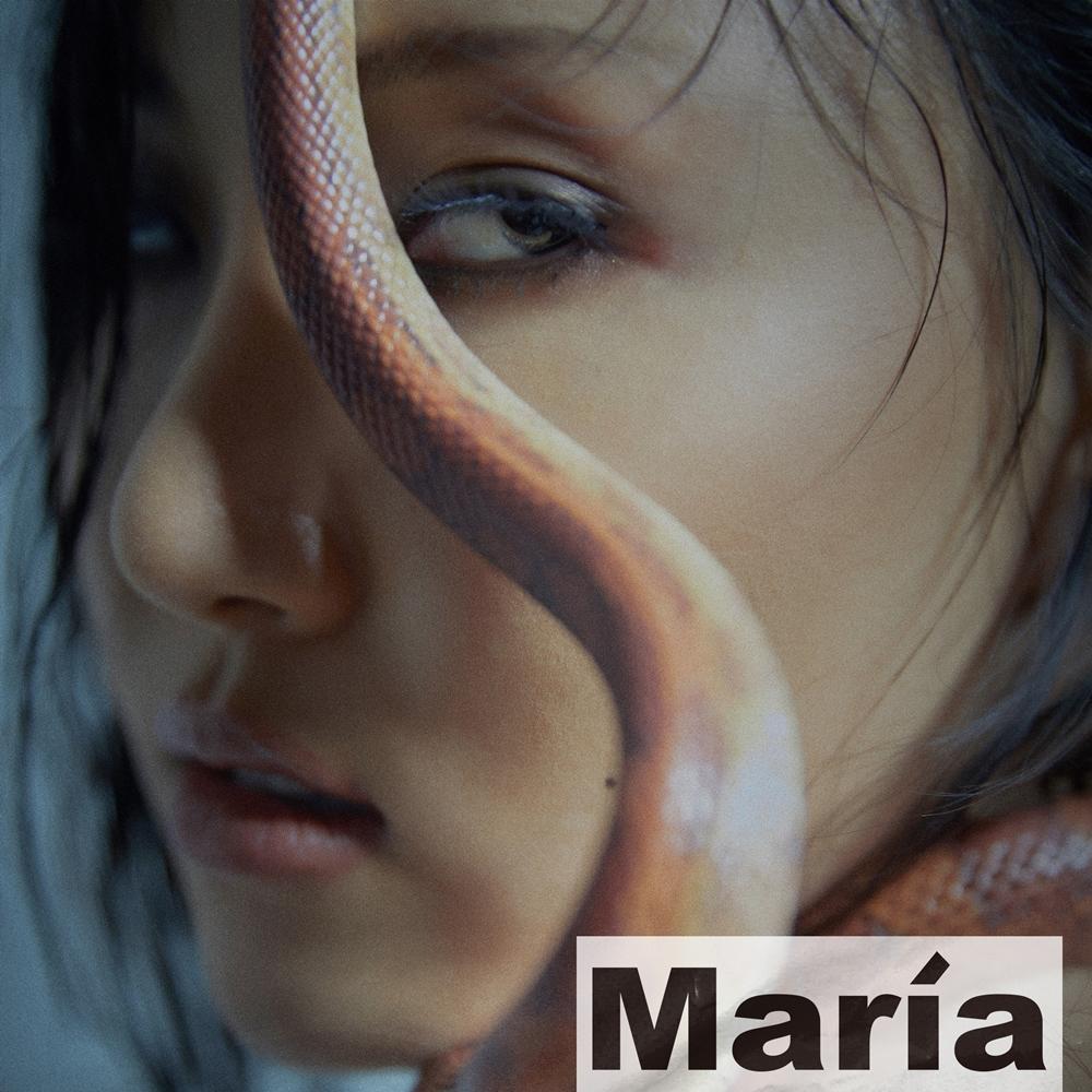 화사 미니 1집 '마리아' 표지 사진