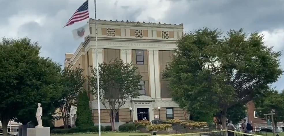 노스캐롤라이나 록스버러 퍼먼 카운티 법원