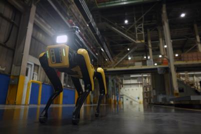 현대차그룹, 보스턴 다이내믹스와 첫 번째 프로젝트 '공장 안전 서비스 로봇' 공개