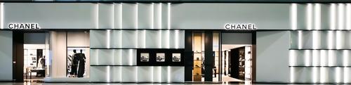 샤넬 인천공항 제1터미널 면세점 매장 전경