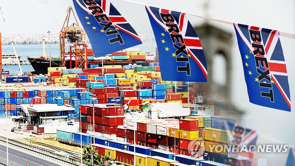 (LEAD) S. Korea, Britain agree on post-Brexit FTA - 1
