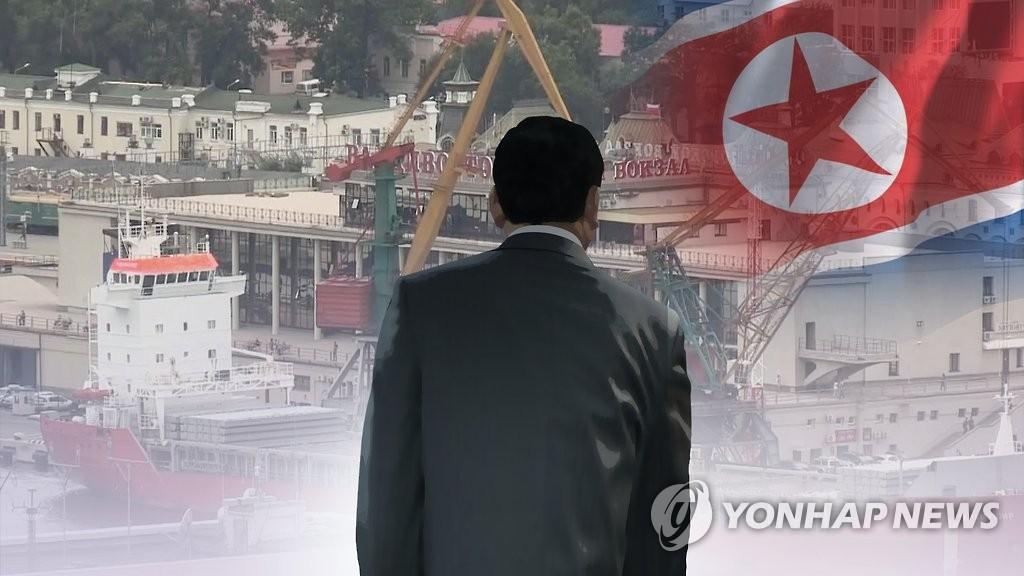 """외교관 탈북""""(CG)"""