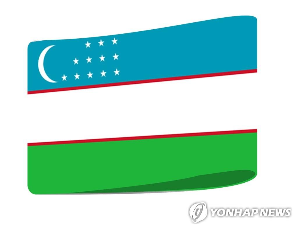 우즈베키스탄 국기