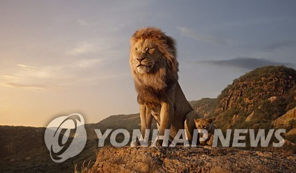 "The image provided by the Walt Disney Company Korea shows a scene from ""The Lion King."" (PHOTO NOT FOR SALE) (Yonhap)"