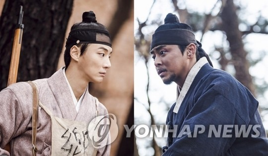 "This image provided by SBS shows a scene from SBS' period drama ""Mung Bean Flower."" (PHOTO NOT FOR SALE) (Yonhap)"