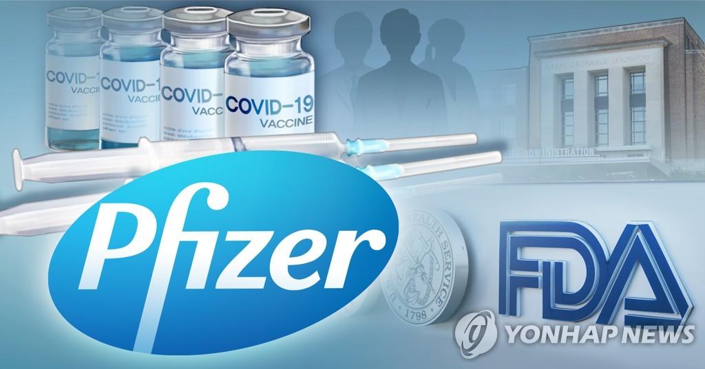 미국 식품의약국(FDA), 화이자 코로나19 백신 승인 (PG)