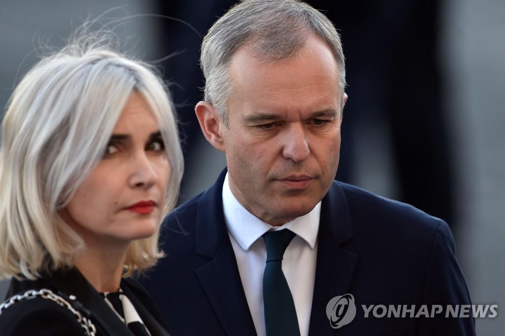 '호화파티' 논란 프랑스 환경장관 사임 | 연합뉴스