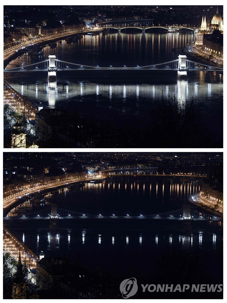 HUNGARY-ENVIROMENT-EARTH HOUR