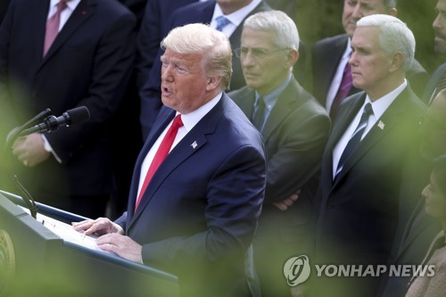 Trump introduces drive-through tests after questioning effectiveness in S. Korea