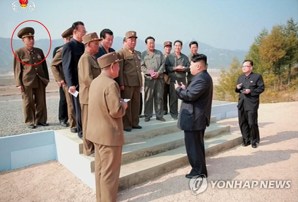 '숙청설' 마원춘 설계국장, 김정은 나선시 현지지도 수행 | 연합뉴스