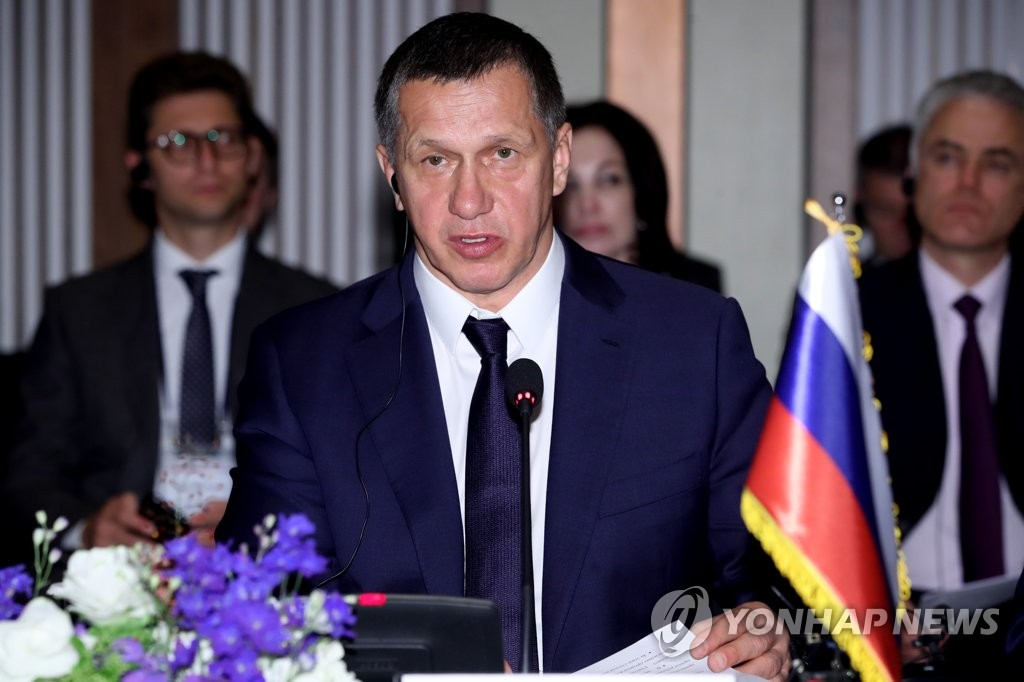 This file photo shows Yuri Trutnev, Russia's Deputy Prime Minister and Presidential Envoy to Russia's Far East. (Yonhap)