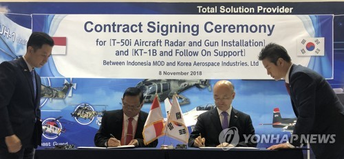 KAI inks defense export deal with Indonesia