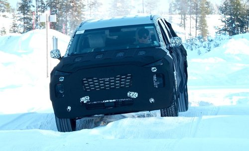 Hyundai's Palisade SUV adds 'snow mode'