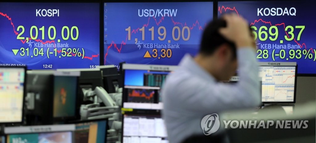 Seoul shares close lower on growth concerns - 1