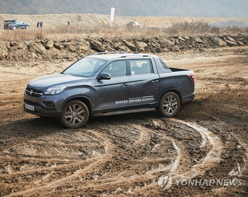 SsangYong Motor's Jan. sales rise 7.7 pct on SUV demand