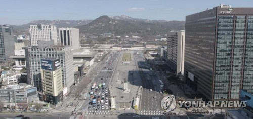 (LEAD) City expected to delay plan to revamp Gwanghwamun Square