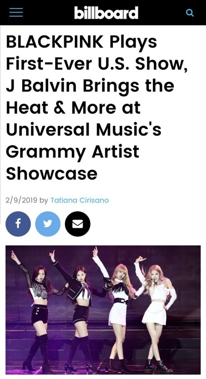 BLACKPINK debuts in U.S.
