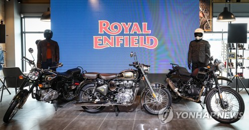 Royal Enfield enters Korea