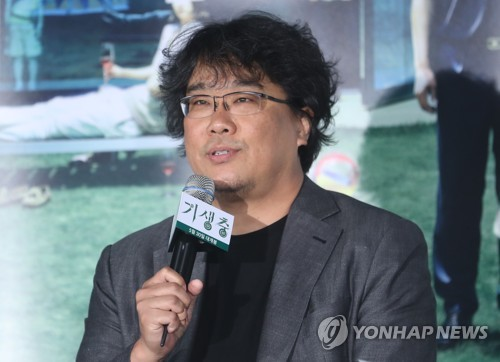(Yonhap Interview) Bong Joon-ho puts every emotion into 'Parasite'
