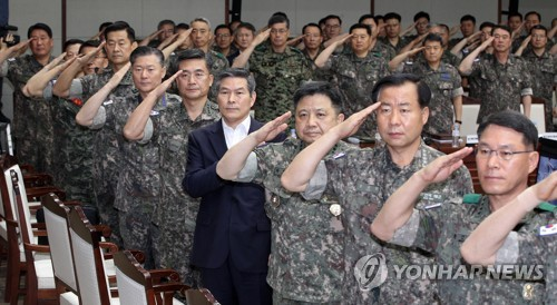 Top military commanders' meeting