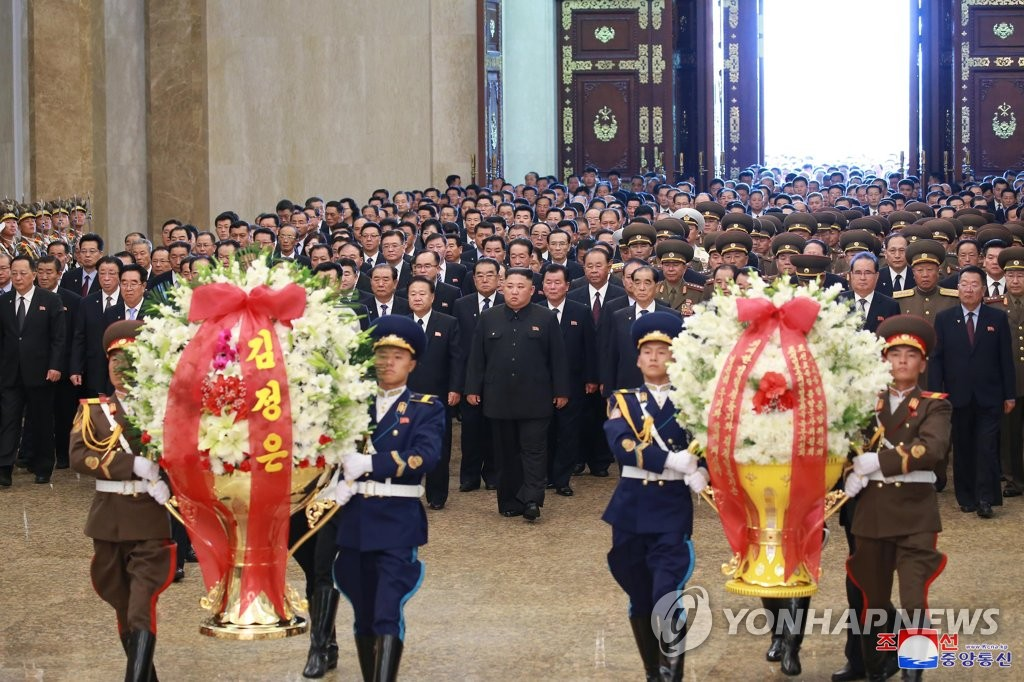 Anniversary of N. Korea founder's death