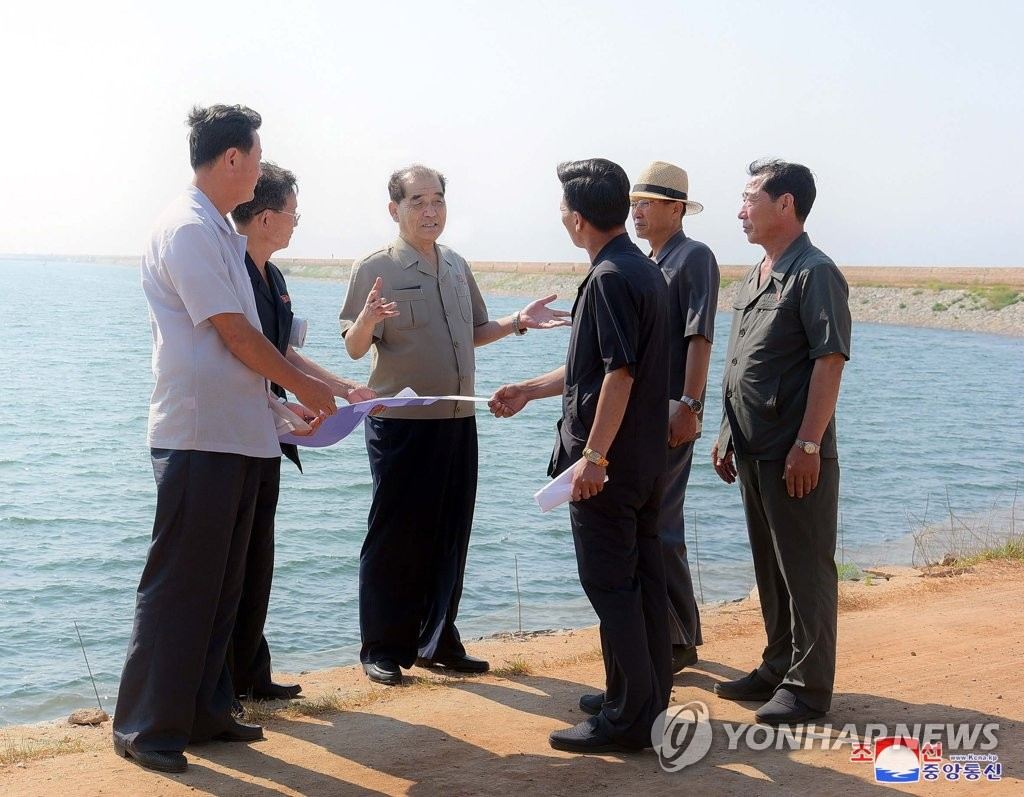 N.K. official's field inspection