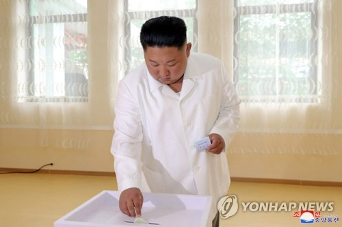 N.K. leader's voting