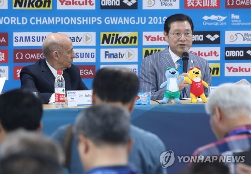 (Gwangju Swimming) Chief organizer says Gwangju Worlds have been a success