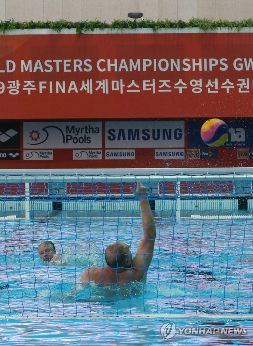 Training for World Masters Championships