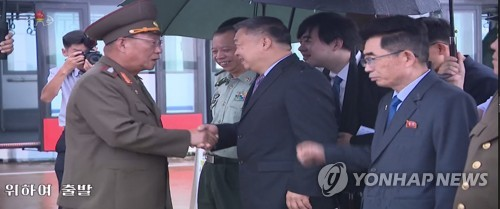 N. Korean military delegation visits China