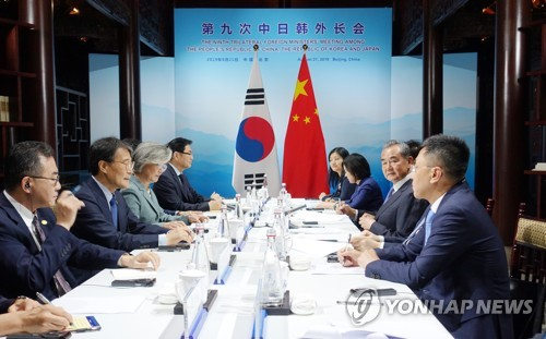 S. Korea-China foreign ministers meeting