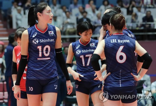 S. Korea falls to Japan at Asian Women's Volleyball Championship
