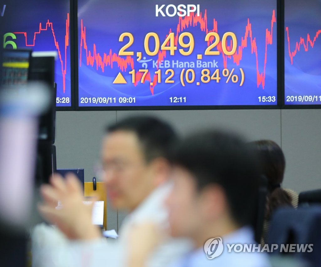 Stocks gain for 6th day
