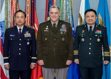 N.K. propaganda outlet denounces meeting of military chiefs of S. Korea, U.S., Japan