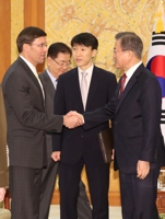 (4th LD) Esper says U.S. will seek Japan's efforts to resolve GSOMIA issue: Cheong Wa Dae