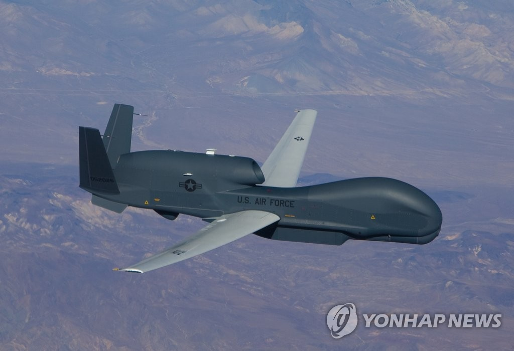 U.S. flies spy plane over Korea