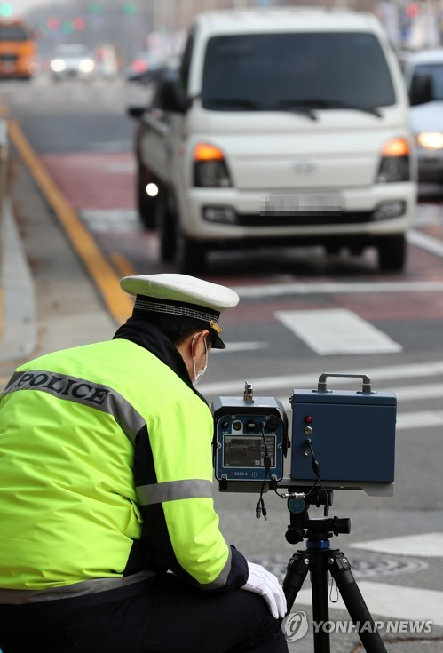 Clampdown on school zone speeding