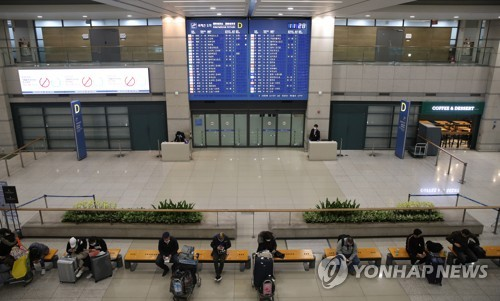 (LEAD) S. Korea calls on citizens to cancel or postpone overseas trips over coronavirus