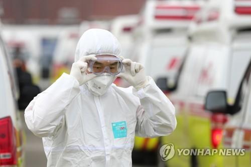 Hasil gambar untuk (LEAD) S. Korea to make preparations to expand health care cooperation with N.K. amid coronavirus spread