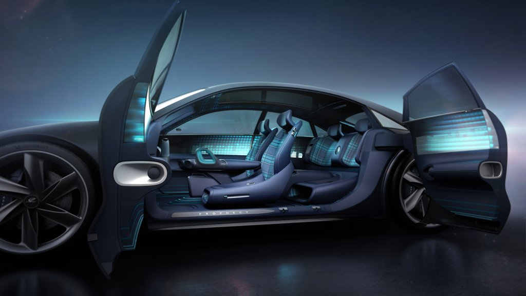 현대차 EV 콘셉트카 '프로페시'