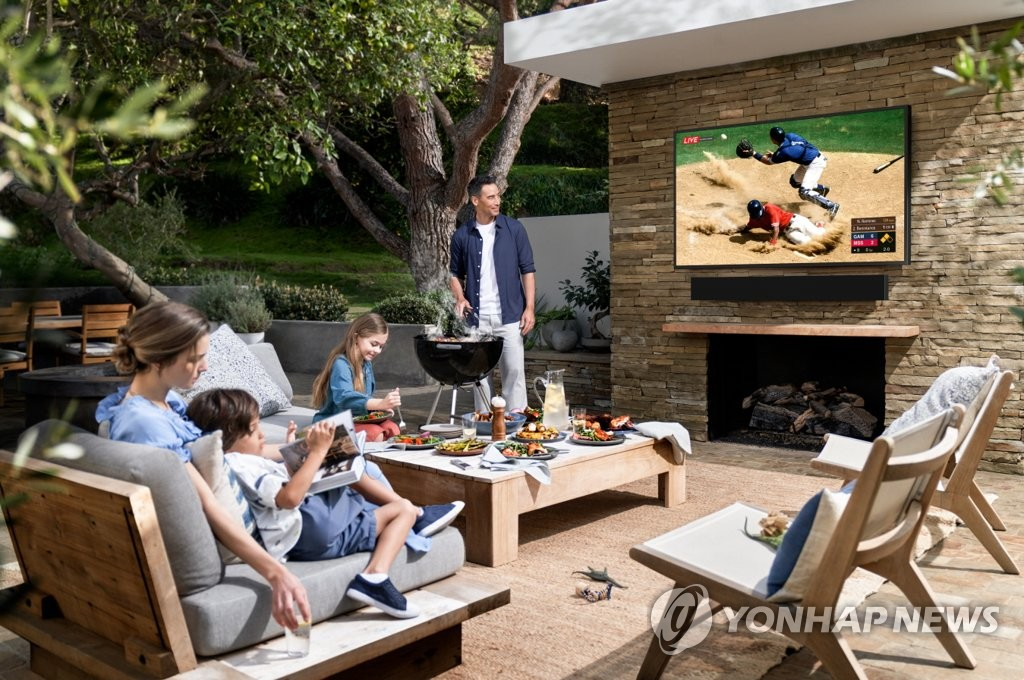 Samsung desvela el televisor 'The Terrace'