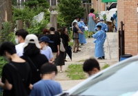 (2nd LD) Rising new virus cases spell peril for S. Korea, areas outside capital under threat