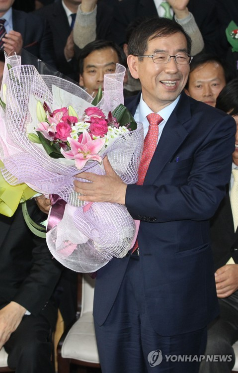 Death of Seoul mayor