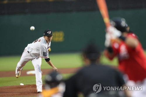 Hanwha's Jang Si-hwan opens against SK Wyverns