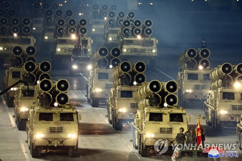S. Korea capable of intercepting N.K.'s new multiple rocket launchers: defense ministry