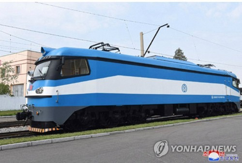 N.K. develops six-axle electric train